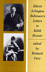 Cover: Edwin Arlington Robinson's Letters to Edith Brower