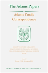 Cover: Adams Family Correspondence, Volume 14: October 1799 – February 1801