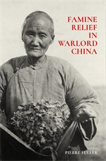 Cover: Famine Relief in Warlord China in HARDCOVER