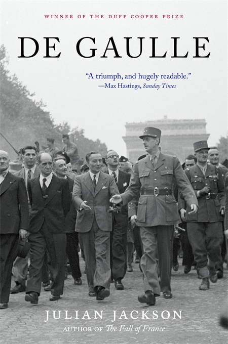 Cover: De Gaulle, by Julian Jackson, from Harvard University Press