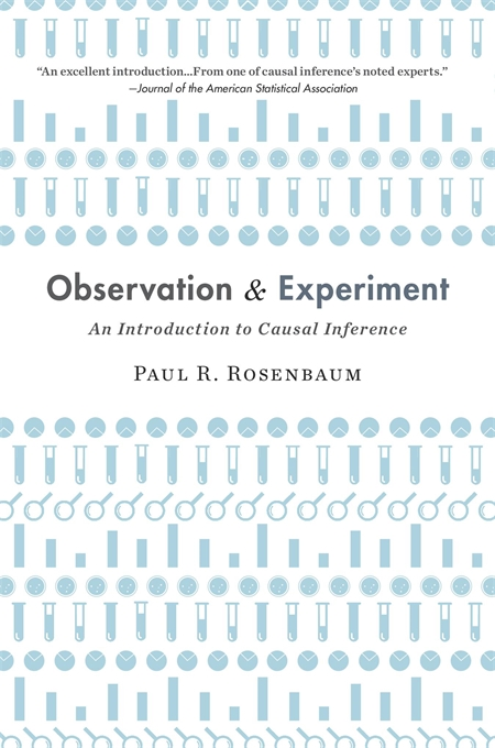 Cover: Observation and Experiment: An Introduction to Causal Inference, from Harvard University Press