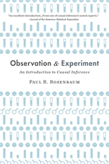 Cover: Observation and Experiment: An Introduction to Causal Inference