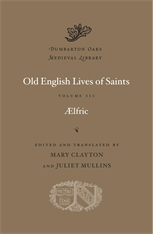 Cover: Old English Lives of Saints, Volume III in HARDCOVER