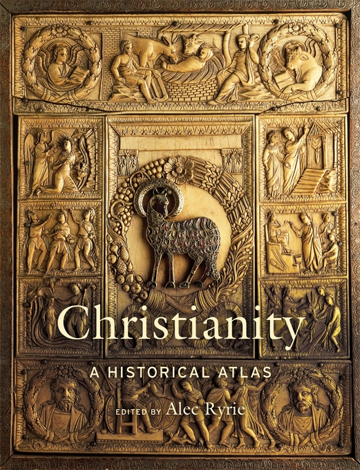 Cover: Christianity: A Historical Atlas, from Harvard University Press
