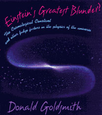 Cover: Einstein's Greatest Blunder? in PAPERBACK
