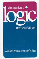 Cover: Elementary Logic: Revised Edition