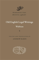 Cover: Old English Legal Writings in HARDCOVER