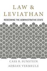 Cover: Law and Leviathan: Redeeming the Administrative State