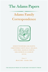 Cover: Adams Family Correspondence, Volume 15: March 1801 – October 1804