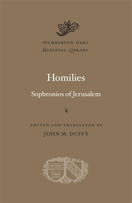 Cover: Homilies, from Harvard University Press