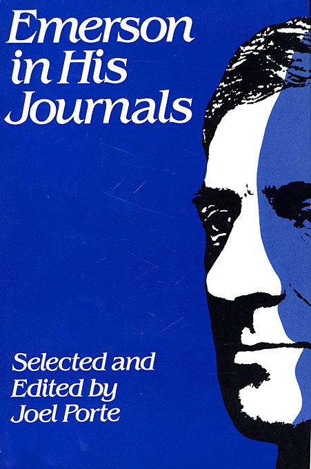 Cover: Emerson in His Journals, from Harvard University Press