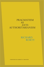 Cover: Pragmatism as Anti-Authoritarianism