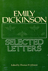 Cover: Emily Dickinson: Selected Letters