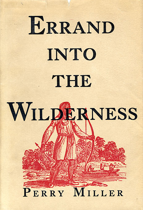 Cover: Errand into the Wilderness, from Harvard University Press
