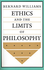 Cover: Ethics and the Limits of Philosophy in PAPERBACK