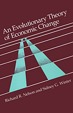Cover: An Evolutionary Theory of Economic Change in PAPERBACK