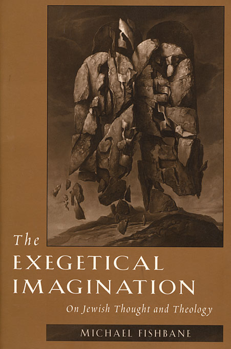 Cover: The Exegetical Imagination: On Jewish Thought and Theology, from Harvard University Press