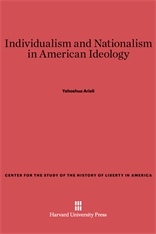 Cover: Individualism and Nationalism in American Ideology