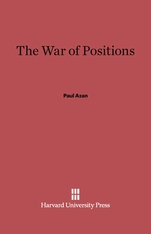 Cover: The War of Positions in E-DITION