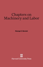 Cover: Chapters on Machinery and Labor in E-DITION