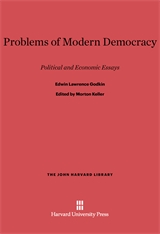 Cover: Problems of Modern Democracy: Political and Economic Essays