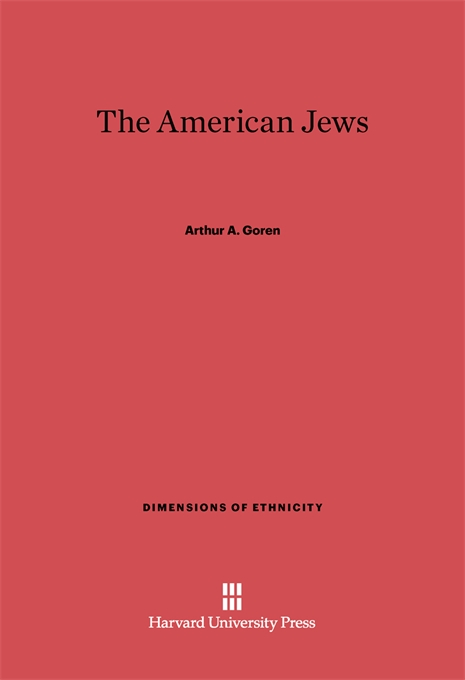Cover: The American Jews, from Harvard University Press