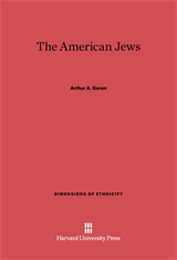 Cover: The American Jews in E-DITION