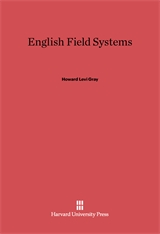 Cover: English Field Systems: Reprint of 1915 edition