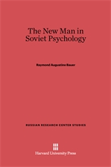 Cover: The New Man in Soviet Psychology