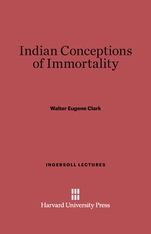 Cover: Indian Conceptions of Immortality