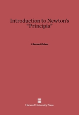 "Cover: Introduction to Isaac Newton's ""Principia"