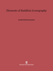 Cover: Elements of Buddhist Iconography