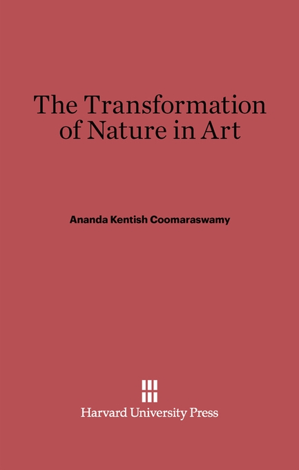 Cover: The Transformation of Nature in Art, from Harvard University Press