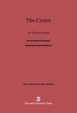 Cover: The Crater: Or Vulcan's Peak