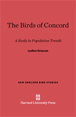 Cover: The Birds of Concord: A Study in Population Trends
