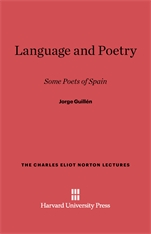 Cover: Language and Poetry: Some Poets of Spain