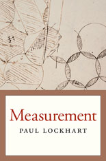 Cover: Measurement, by Paul Lockhart, from Harvard University Press