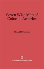 Cover: Seven Wise Men of Colonial America