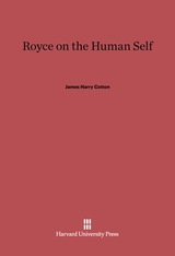 Cover: Royce on the Human Self