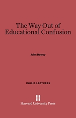 Cover: The Way Out of Educational Confusion