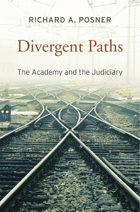 Cover: Divergent Paths: The Academy and the Judiciary, from Harvard University Press