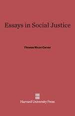 Cover: Essays in Social Justice