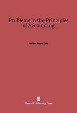 Cover: Problems in the Principles of Accounting