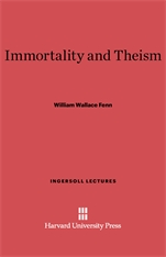 Cover: Immortality and Theism
