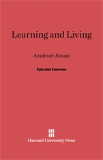 Cover: Learning and Living: Academic Essays