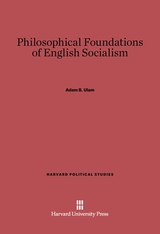 Cover: Philosophical Foundations of English Socialism
