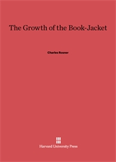 Cover: The Growth of the Book-Jacket