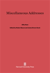 Cover: Miscellaneous Addresses