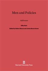 Cover: Men and Policies
