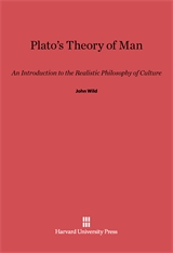 Cover: Plato's Theory of Man: An Introduction to the Realistic Philosophy of Culture